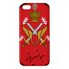 Seal Of The Imperial Iranian Army Aviation  Apple Iphone 5 Premium Hardshell Case by abbeyz71