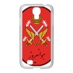Seal Of The Imperial Iranian Army Aviation  Samsung Galaxy S4 I9500/ I9505 Case (white) by abbeyz71