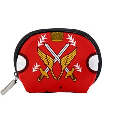 Seal Of The Imperial Iranian Army Aviation  Accessory Pouches (small)  by abbeyz71