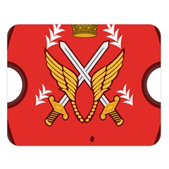 Seal Of The Imperial Iranian Army Aviation  Double Sided Flano Blanket (large)  by abbeyz71