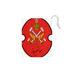 Seal Of The Imperial Iranian Army Aviation  Drawstring Pouches (xs)  by abbeyz71