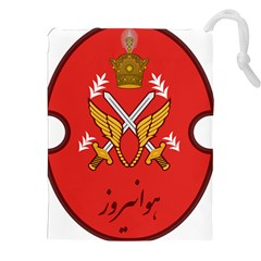 Seal Of The Imperial Iranian Army Aviation  Drawstring Pouches (xxl) by abbeyz71
