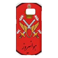 Seal Of The Imperial Iranian Army Aviation  Samsung Galaxy S7 Edge Hardshell Case by abbeyz71