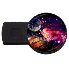 Letter From Outer Space Usb Flash Drive Round (4 Gb) by augustinet