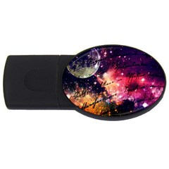 Letter From Outer Space Usb Flash Drive Oval (2 Gb) by augustinet