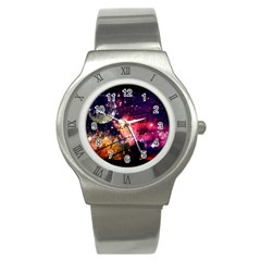 Letter From Outer Space Stainless Steel Watch by augustinet