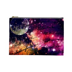 Letter From Outer Space Cosmetic Bag (large)  by augustinet