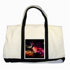 Letter From Outer Space Two Tone Tote Bag