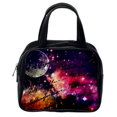 Letter From Outer Space Classic Handbags (one Side) by augustinet