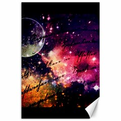 Letter From Outer Space Canvas 24  X 36  by augustinet