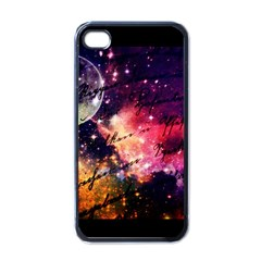 Letter From Outer Space Apple Iphone 4 Case (black) by augustinet