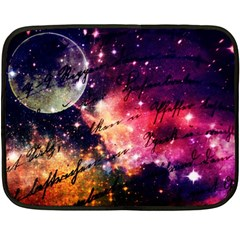 Letter From Outer Space Double Sided Fleece Blanket (mini)  by augustinet