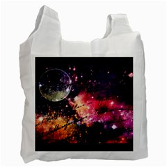 Letter From Outer Space Recycle Bag (two Side)  by augustinet