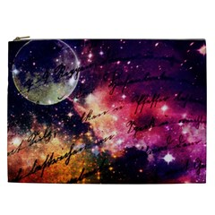 Letter From Outer Space Cosmetic Bag (xxl)  by augustinet