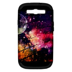 Letter From Outer Space Samsung Galaxy S Iii Hardshell Case (pc+silicone) by augustinet