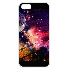 Letter From Outer Space Apple Iphone 5 Seamless Case (white) by augustinet