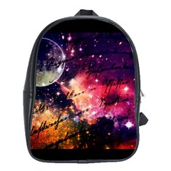 Letter From Outer Space School Bag (xl) by augustinet