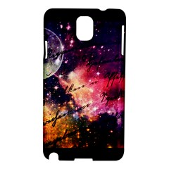 Letter From Outer Space Samsung Galaxy Note 3 N9005 Hardshell Case by augustinet