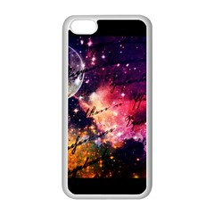 Letter From Outer Space Apple Iphone 5c Seamless Case (white) by augustinet