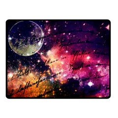 Letter From Outer Space Double Sided Fleece Blanket (small)  by augustinet