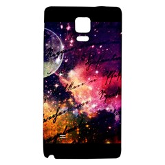 Letter From Outer Space Galaxy Note 4 Back Case by augustinet