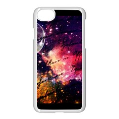 Letter From Outer Space Apple Iphone 8 Seamless Case (white) by augustinet