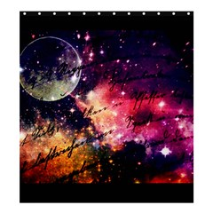 Letter From Outer Space Shower Curtain 66  X 72  (large)  by augustinet