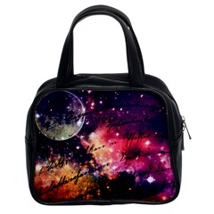 Letter From Outer Space Classic Handbags (2 Sides) by augustinet