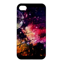 Letter From Outer Space Apple Iphone 4/4s Premium Hardshell Case by augustinet