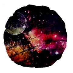 Letter From Outer Space Large 18  Premium Round Cushions by augustinet