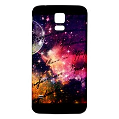 Letter From Outer Space Samsung Galaxy S5 Back Case (white) by augustinet