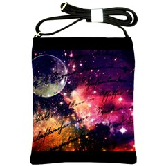 Letter From Outer Space Shoulder Sling Bags by augustinet
