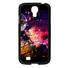 Letter From Outer Space Samsung Galaxy S4 I9500/ I9505 Case (black) by augustinet