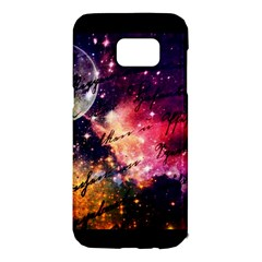 Letter From Outer Space Samsung Galaxy S7 Edge Hardshell Case by augustinet