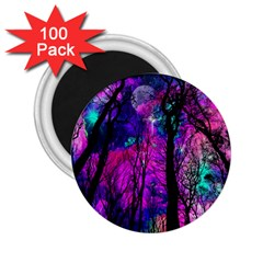 Magic Forest 2 25  Magnets (100 Pack)  by augustinet