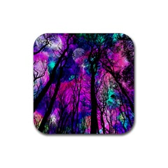 Magic Forest Rubber Coaster (square)  by augustinet