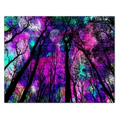 Magic Forest Rectangular Jigsaw Puzzl by augustinet