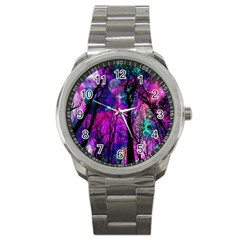 Magic Forest Sport Metal Watch by augustinet