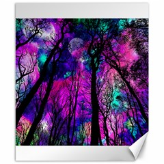 Magic Forest Canvas 8  X 10  by augustinet