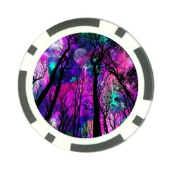 Magic Forest Poker Chip Card Guard by augustinet