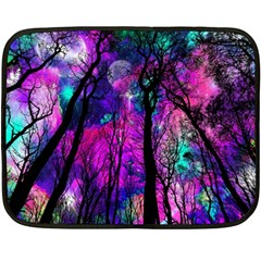 Magic Forest Double Sided Fleece Blanket (mini)  by augustinet