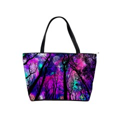Magic Forest Shoulder Handbags by augustinet