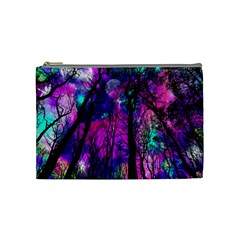 Magic Forest Cosmetic Bag (medium)  by augustinet