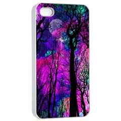 Magic Forest Apple Iphone 4/4s Seamless Case (white) by augustinet