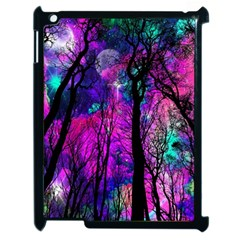 Magic Forest Apple Ipad 2 Case (black) by augustinet