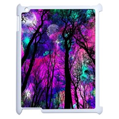 Magic Forest Apple Ipad 2 Case (white) by augustinet