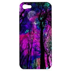 Magic Forest Apple Iphone 5 Hardshell Case by augustinet
