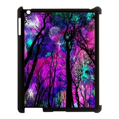 Magic Forest Apple Ipad 3/4 Case (black) by augustinet