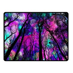 Magic Forest Double Sided Fleece Blanket (small)  by augustinet