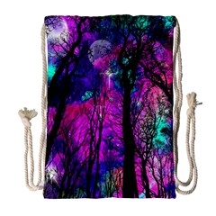 Magic Forest Drawstring Bag (large) by augustinet